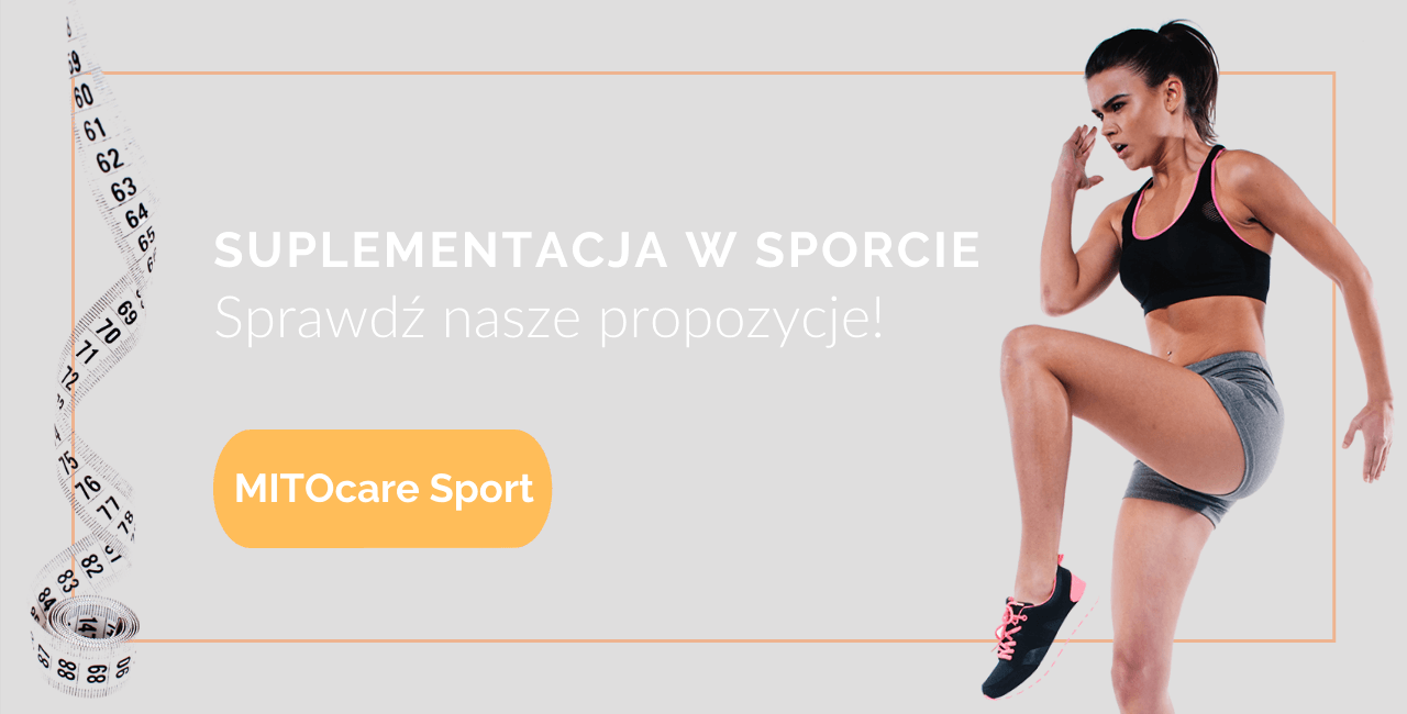 Suplementacja w sporcie zestawy MITOCare Polska